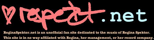 Regina Spektor . net